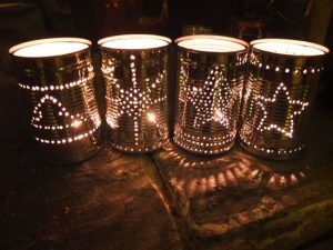 Make Lanterns Out of Tin Cans