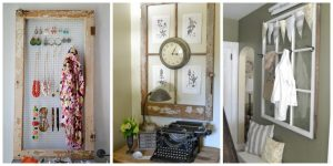 Repurpose an Old Window Into a Photo Frame